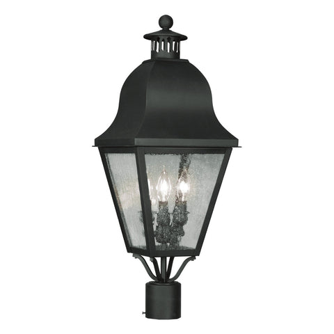 Amwell 3-Light Outdoor Post Head