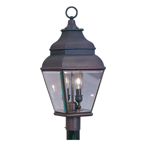 Exeter 2-Light Outdoor Post Lantern