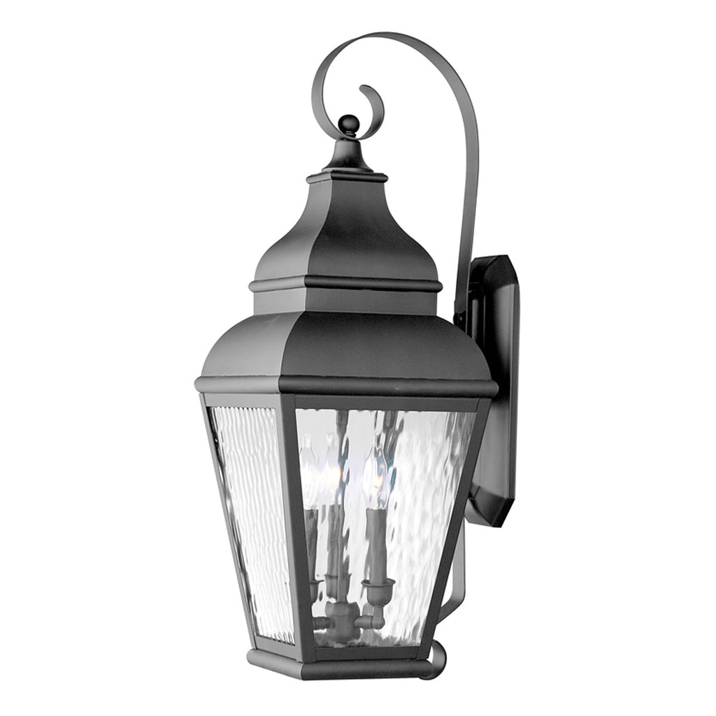 Exeter 3-Light Outdoor Wall Lantern