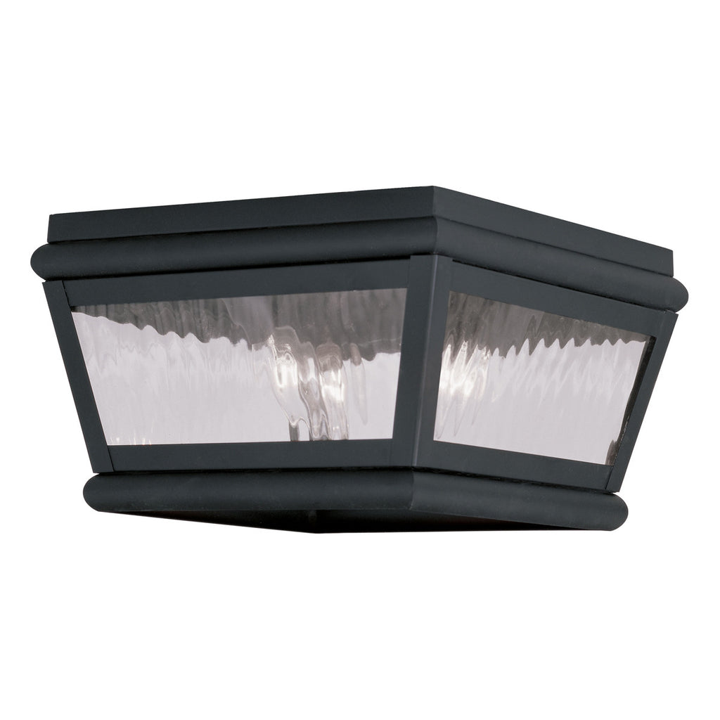 Exeter 2-Light Outdoor Ceiling Mount