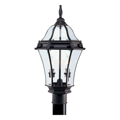 Fleur de Lis 2-Light Outdoor Post Head