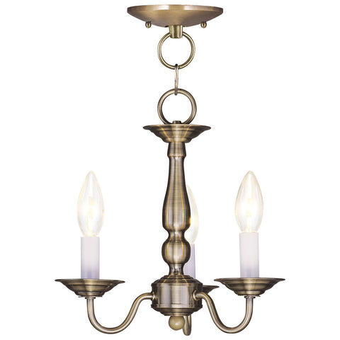 Williamsburgh 3-Light Pendant/ Ceiling Mount