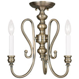 Caldwell 3-Light Mini Chandelier/ Ceiling Mount