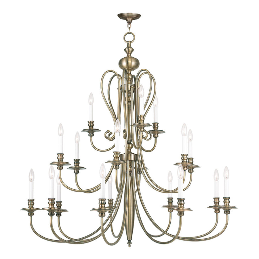 Caldwell 18-Light Chandelier