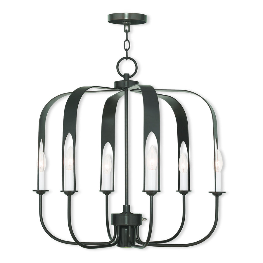Addison 6+1-Light Chandelier