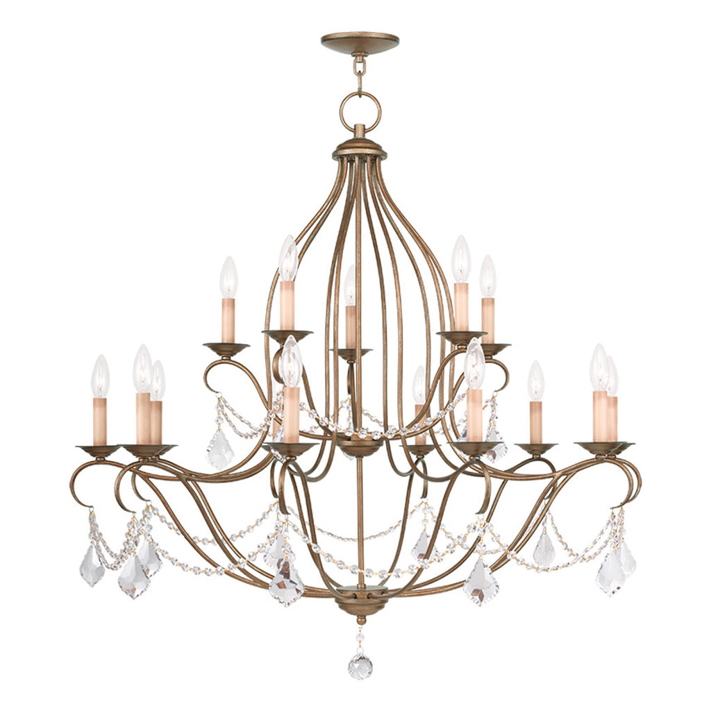 Chesterfield 15-Light Chandelier