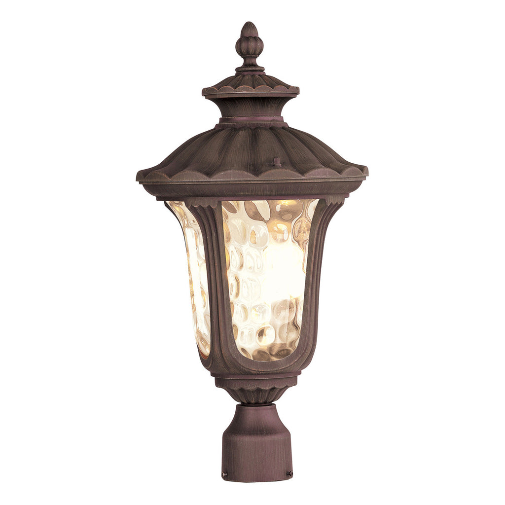 Oxford 3-Light Outdoor Post Head