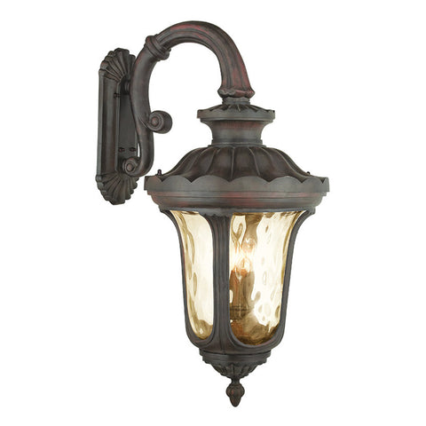 Oxford 4-Light Imperial Bronze Outdoor Wall Lantern