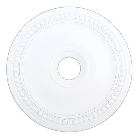 Wingate White Ceiling Medallion