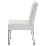 "Chair 20"" in Silver Paint"