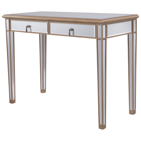 Contempo 2-Drawer Dressing Table in Gold Paint