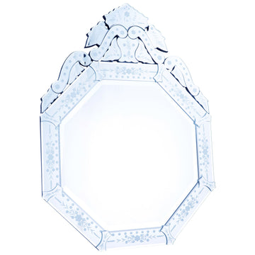 Venetian 30-Inch Transitional Mirror in Clear
