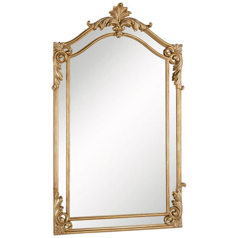 Antique 30-Inch Contemporary Mirror in Antique Gold Leaf