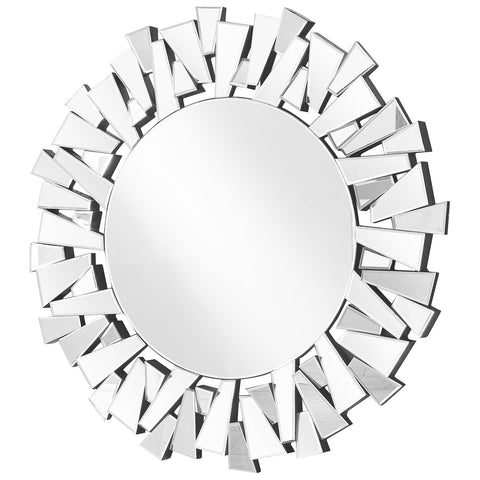 Sparkle  Contemporary Round Mirror
