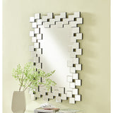 Sparkle 31.5-Inch Contemporary Rectangle Clear Mirror