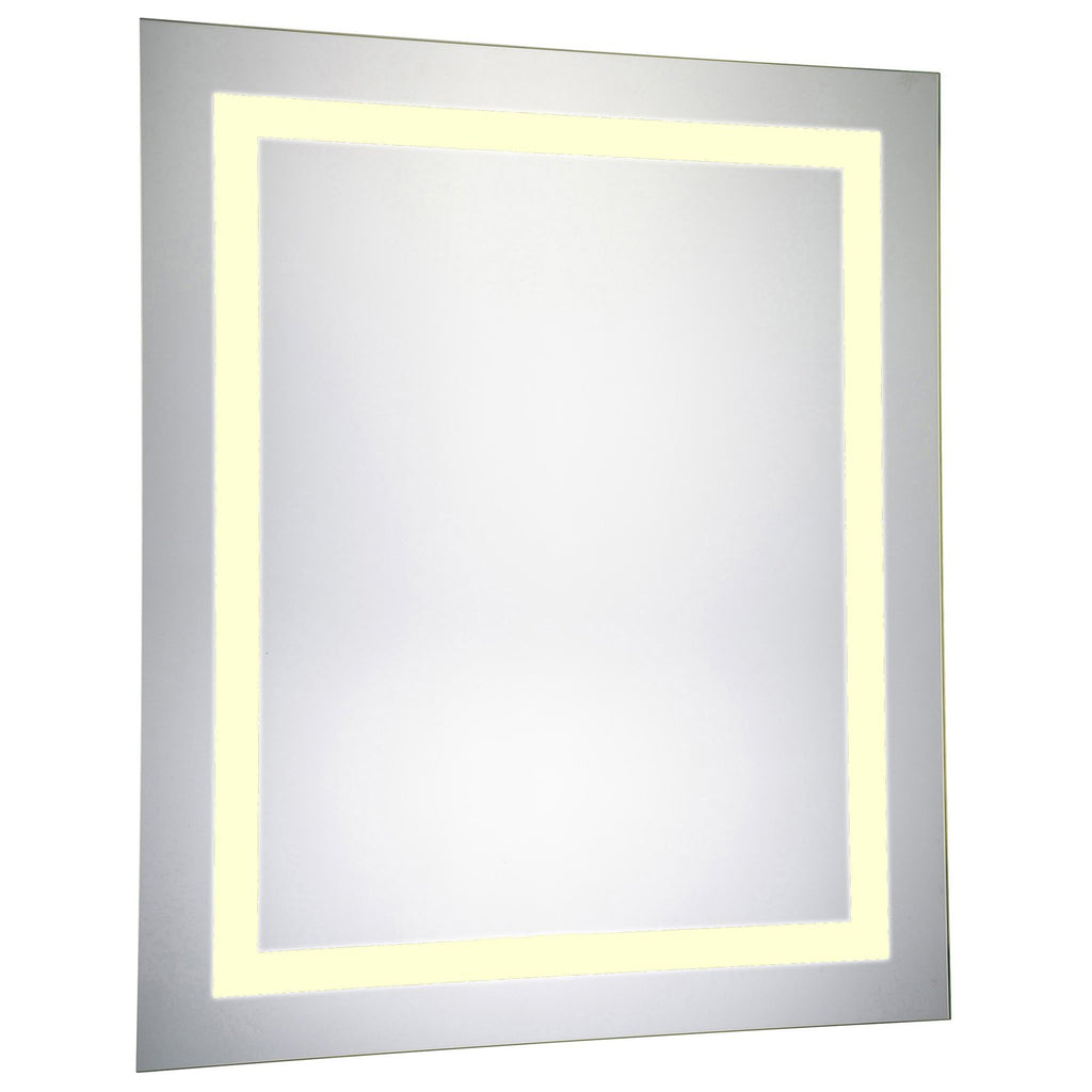 Rectangle Dimmable 3000K LED Hardwired Mirror