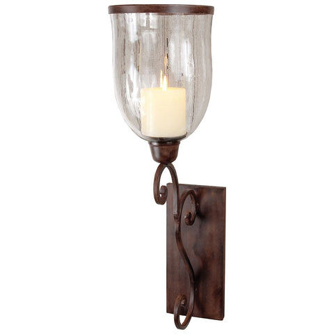 Montana Wall Sconce in Montana Rustic and Clear