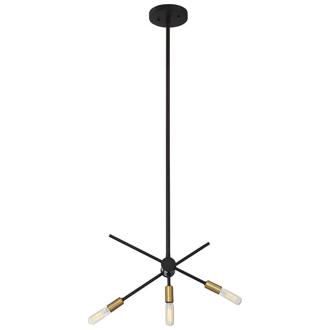 Lyrique 3-Light Chandelier