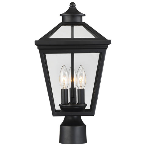 Ellijay Post Lantern in Black