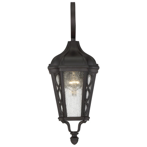 "Hamilton 7"" Wall Lantern in English Bronze"