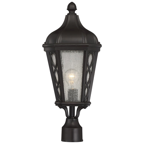 "Hamilton 9"" Post Lantern in English Bronze"
