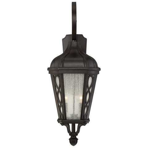 "Hamilton 13"" Wall Lantern in English Bronze"