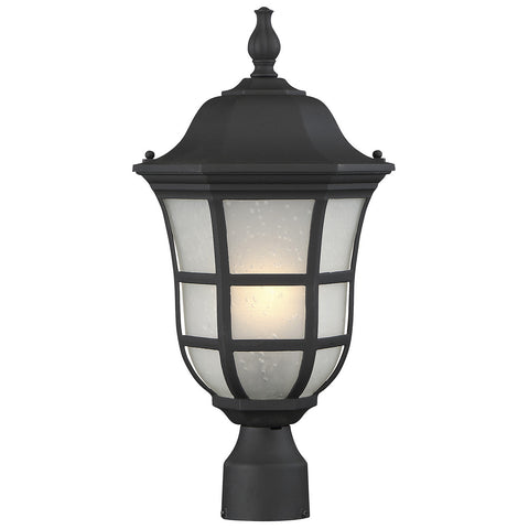 "Ashburn 10"" Post Lantern in Black"