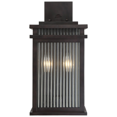 "Radford 8.5"" Wall Lantern in English Bronze"