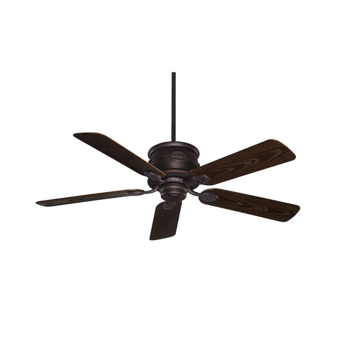 Capri English Bronze Outdoor Ceiling Fan