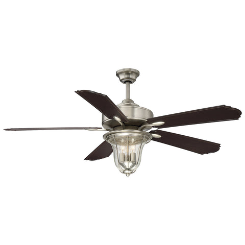 "Trudy 52"" 5-Blade Ceiling Fan in Satin Nickel"