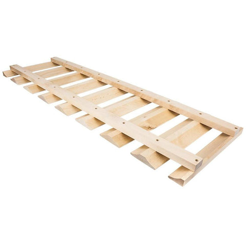 "Maple 36"" Stemware Rack"