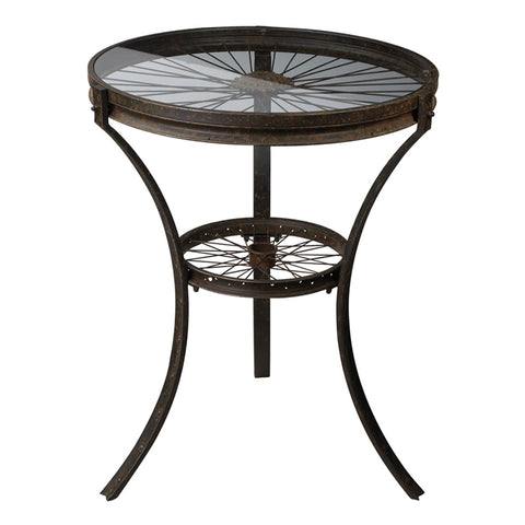 Style Side Table in Restoration Rusted Black