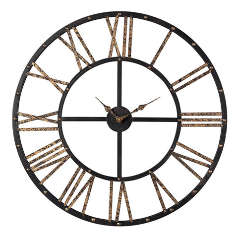 Roman Numeral Open Back Wall Clock