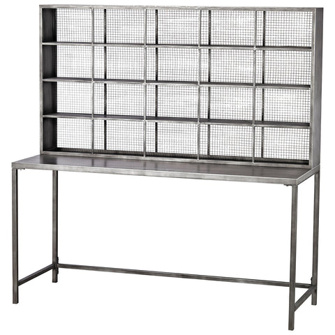 Gunther Tall Desk in Graphite