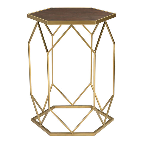 Hexagon Frame Side Table
