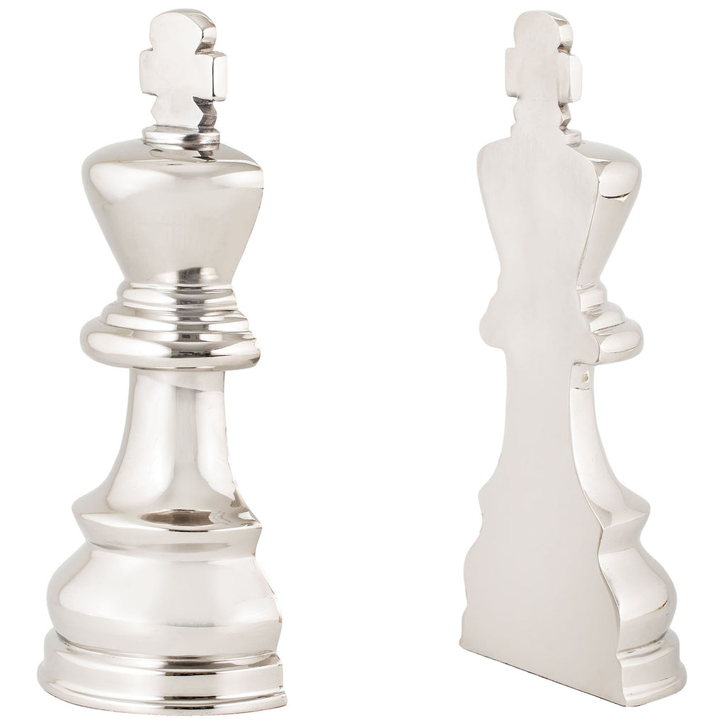 Chess Piece Book Ends, Set of 2