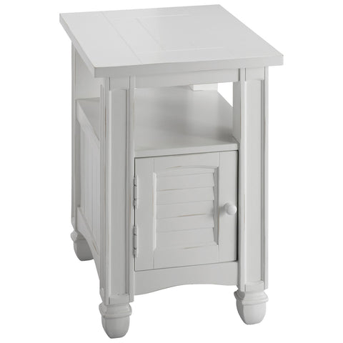Nantucket Chairside Table in Cottage White