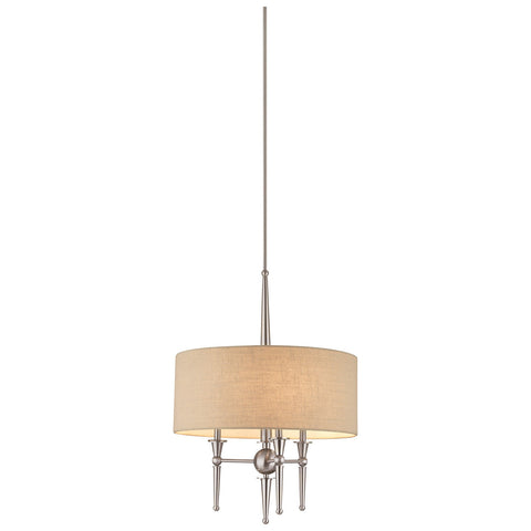 Allure 3-Light Pendant in Brushed Nickel
