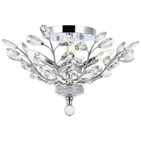 Orchid 4-Light Flush Mount