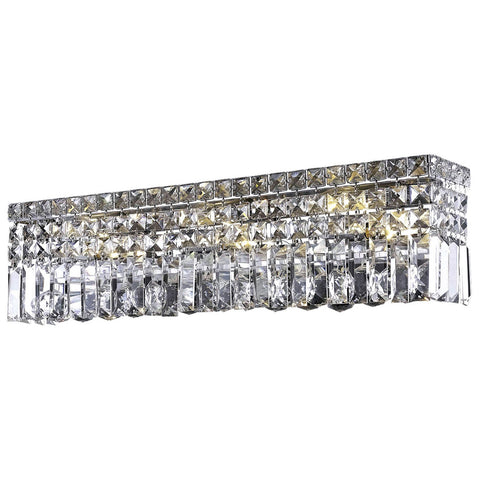 Maxime 3-Light Wall Sconce in Chrome