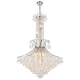 Toureg 16-Light Chandelier with Clear Crystal