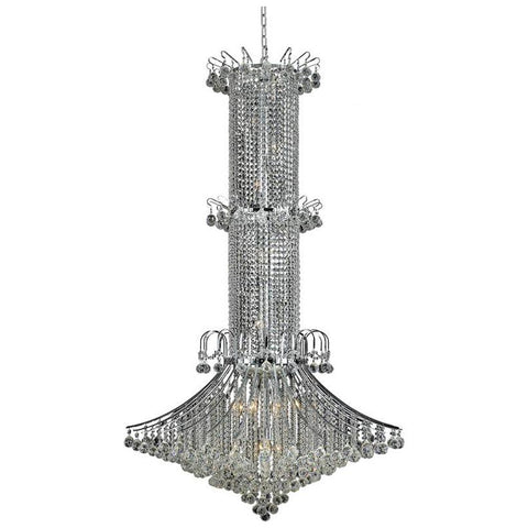 Toureg 20-Light Chandelier with Clear Crystal