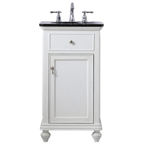 Otto 19-Inch Single Bathroom Vanity Set in Antique White
