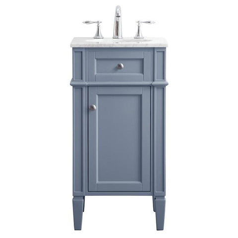 Park Avenue 18-Inch Single Bathroom Vanity Set