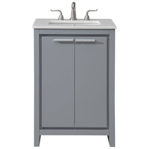 Filipo 24-Inch Single Bathroom Vanity Set