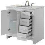 Filipo 36-Inch Single Bathroom Vanity Set