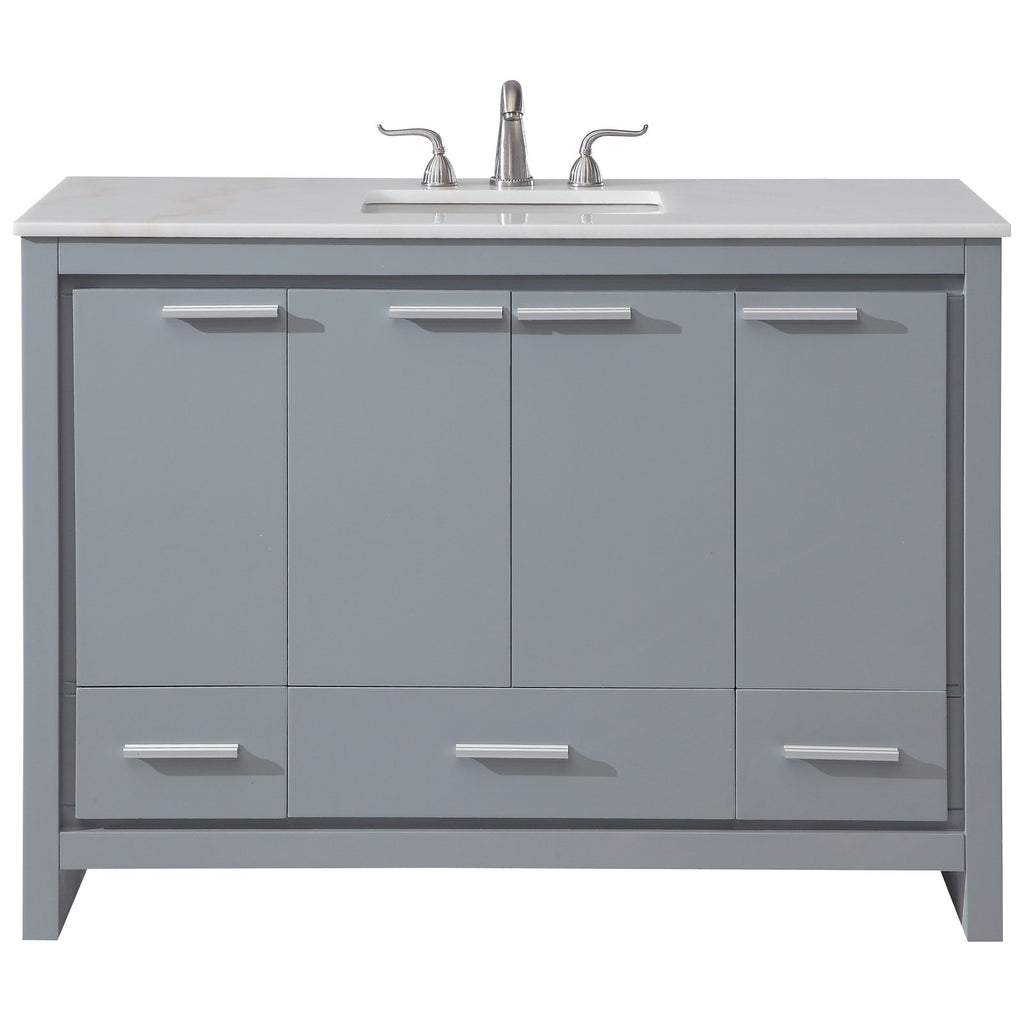 Filipo 48-Inch Single Bathroom Vanity Set