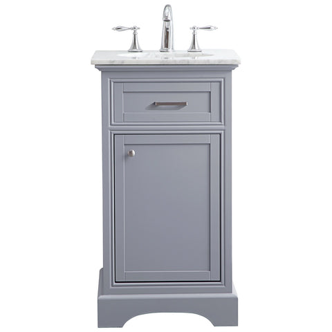 19-Inch Single Bathroom Vanity Set