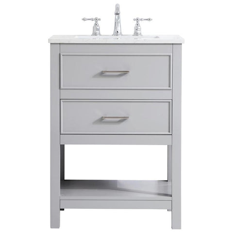 Sinclaire 24-Inch Single Bathroom Vanity