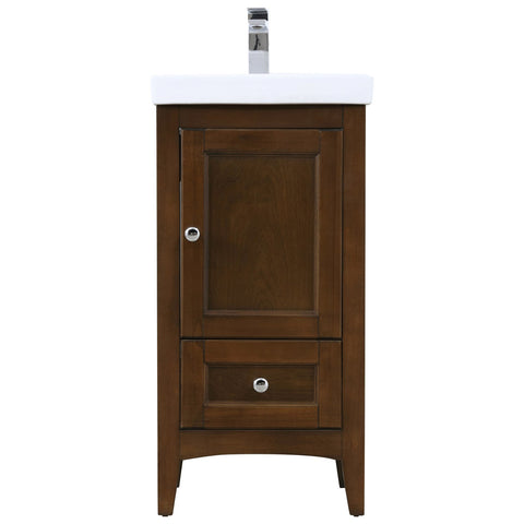 Saturn 18-Inch Single Bathroom Vanity Set